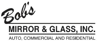Logo, Bob's Mirror & Glass, Inc. - Glass Company